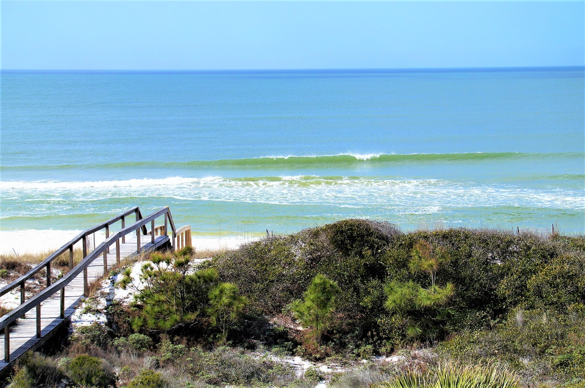 Cape San Blas Beach View
